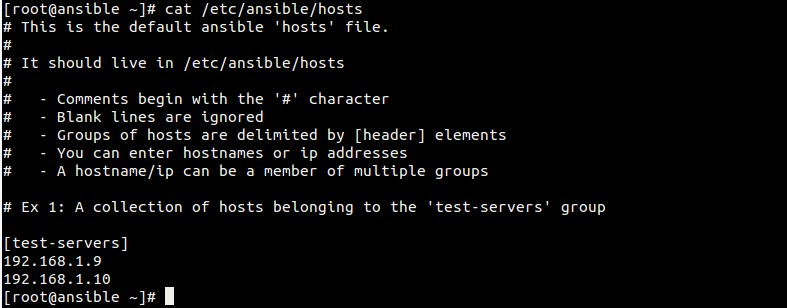 ansible-host
