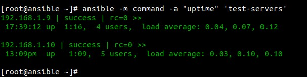 ansible-uptime