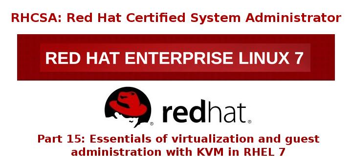 KVM 虚拟化基础和 KVM 虚拟机管理