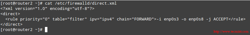 在 CentOS 7 中检查 Firewalld 保存的规则