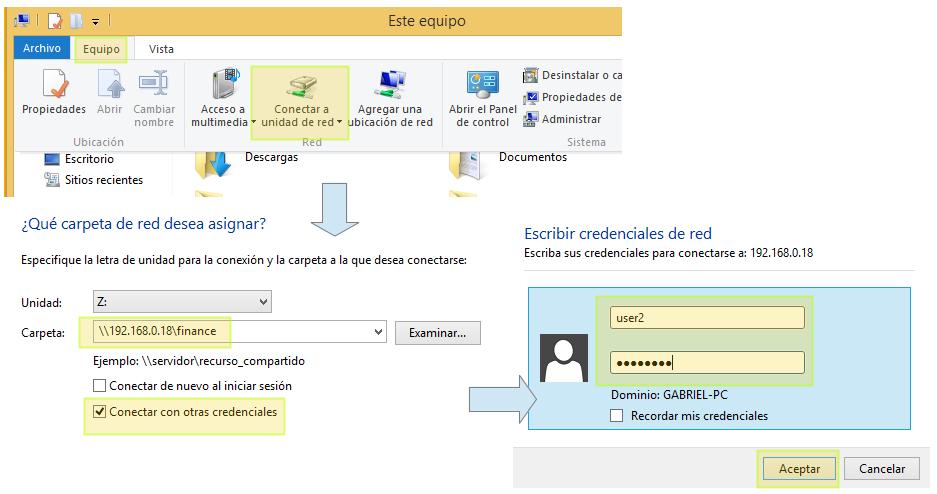 在 Windows 中挂载 Samba 共享