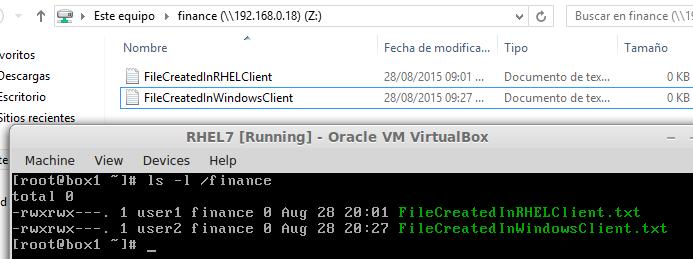 在 Windows Samba 共享中新建文件