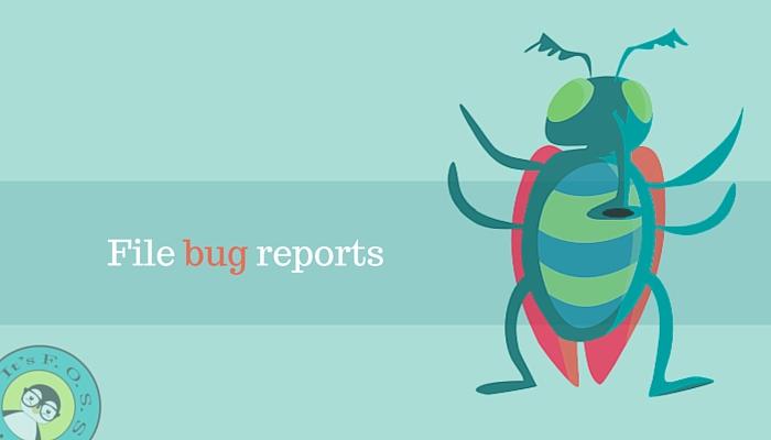 报告BUG