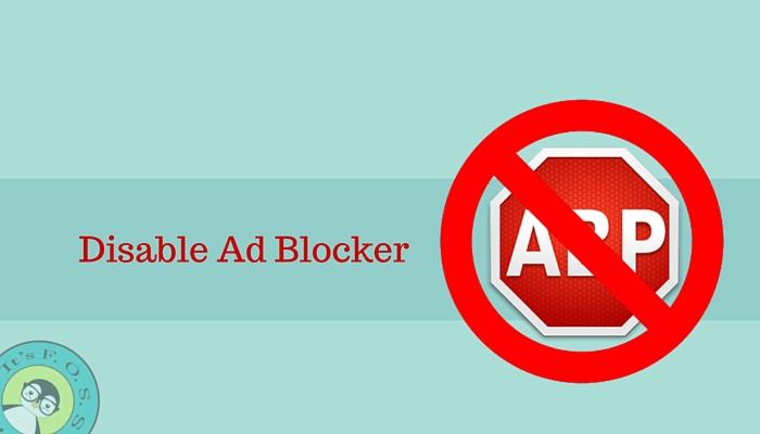 禁用广告拦截