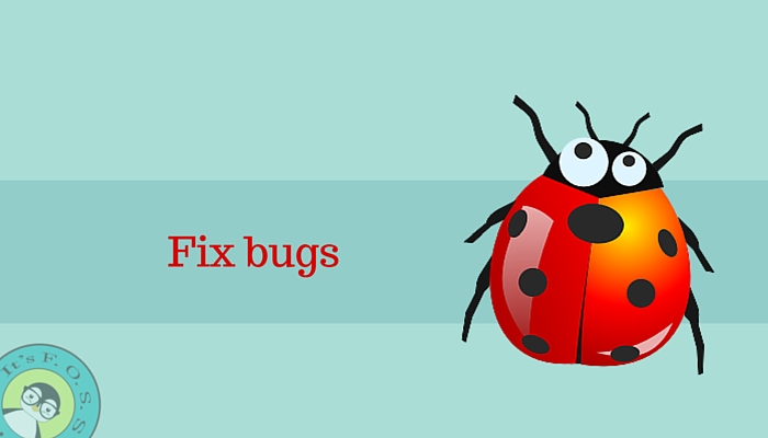 修复Bug(开发者)