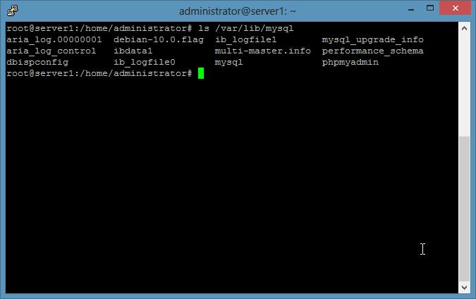 使用 tar 基于文件备份 MySQL