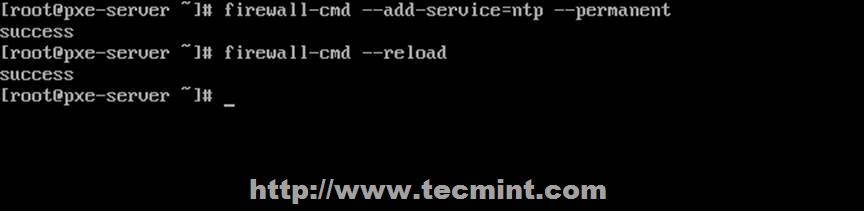 在 Firewall 中开放 NTP 端口