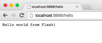 Flask应用运行情况