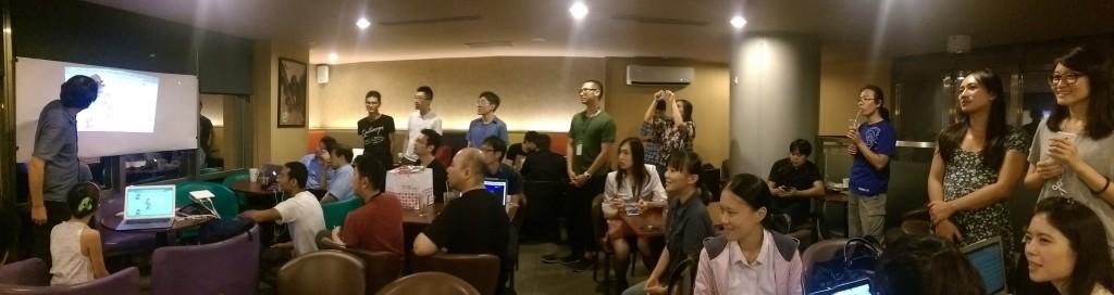参加 Hacking Thursday 和 WoFOSS 联合举办的活动