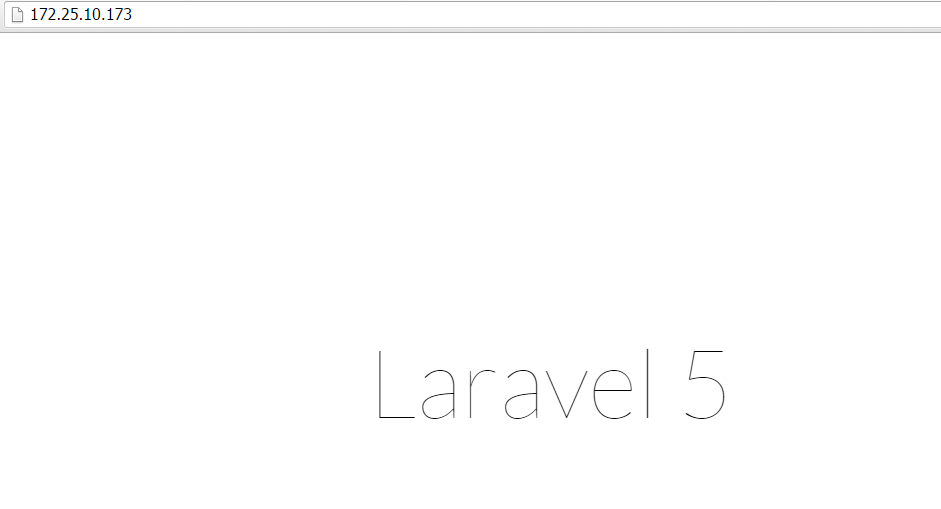 Laravel Default