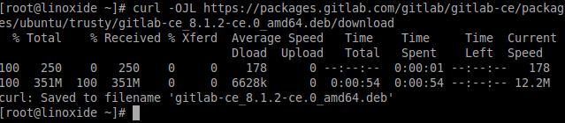 Downloading Gitlab Ubuntu