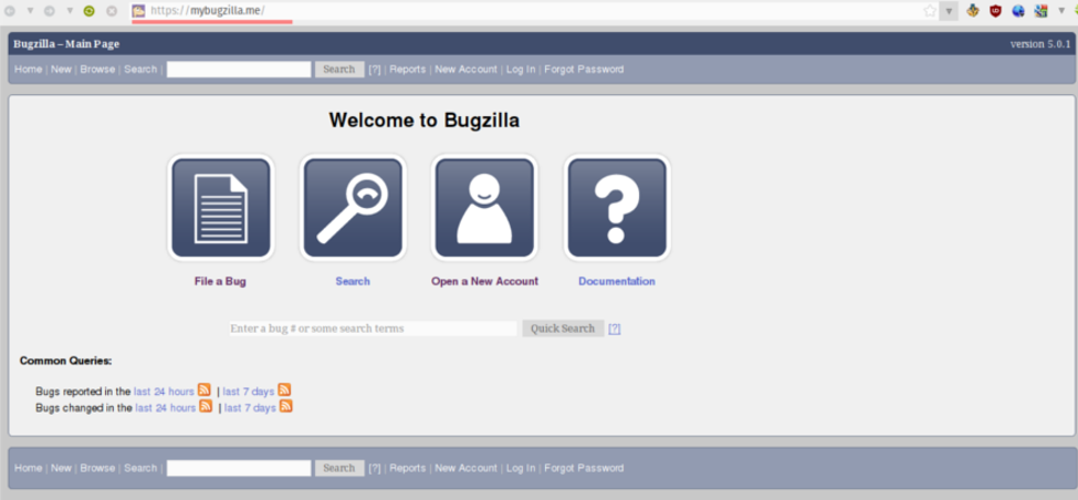 Bugzilla Home