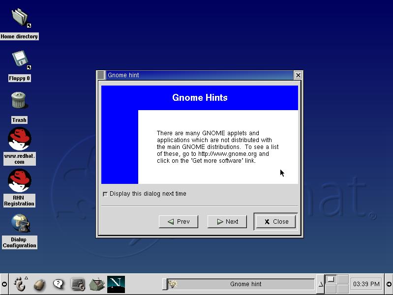 GNOME 1.2 Bongo