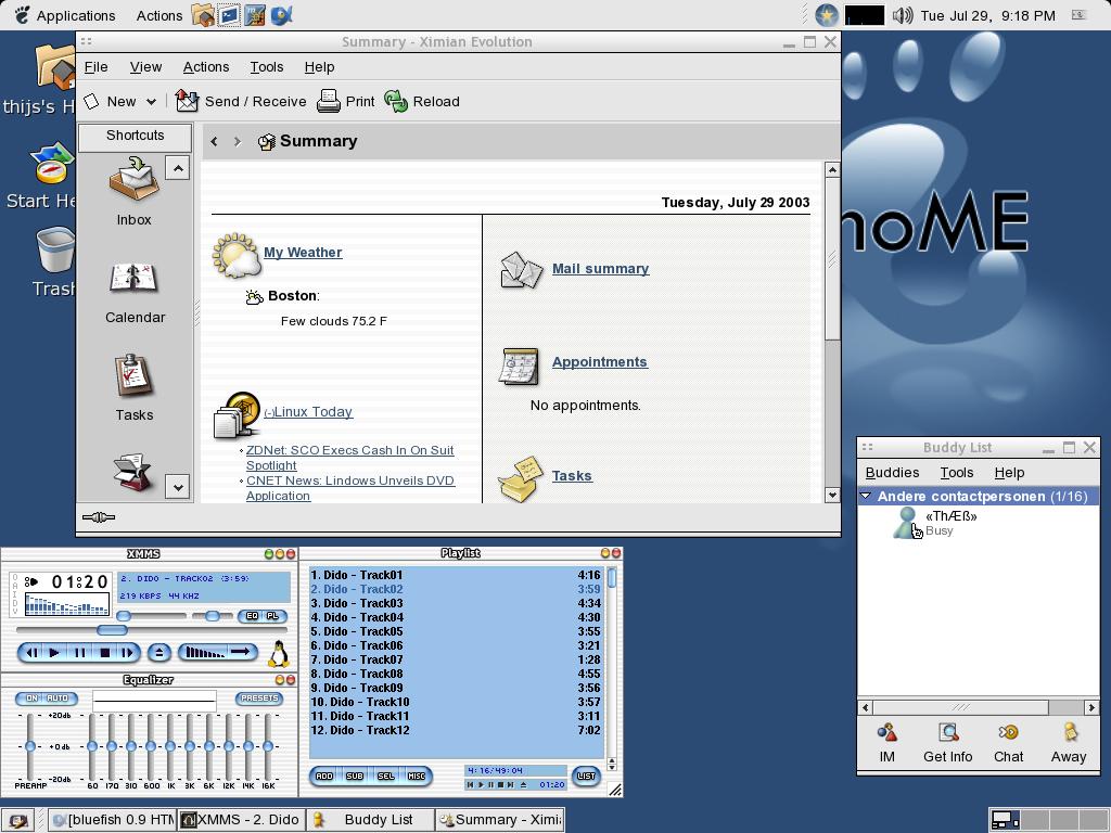 GNOME 2.4 Temujin