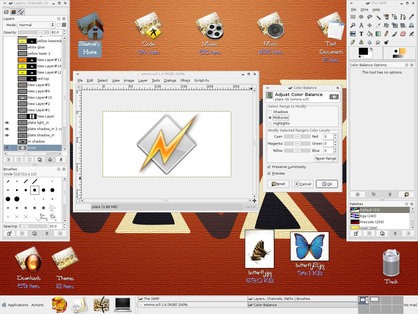 GNOME 2.8