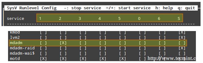 Sysv 运行等级配置SysV Runlevel Config