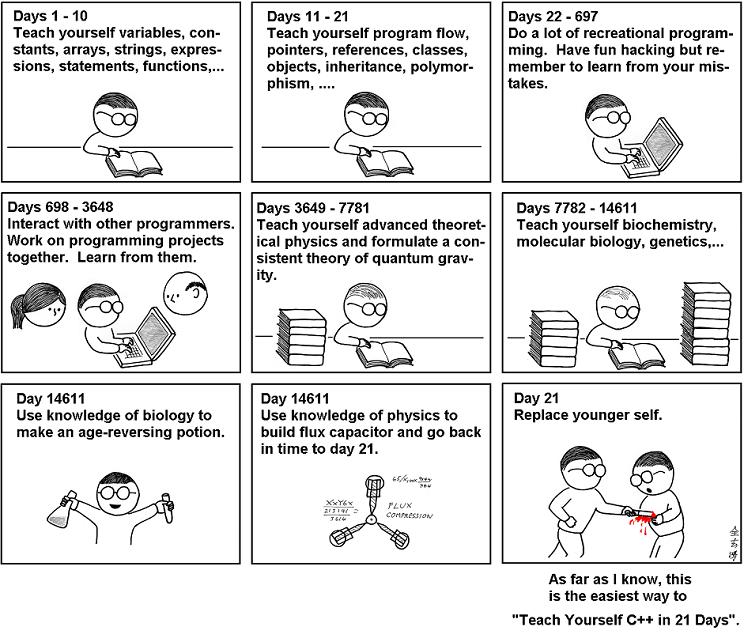Teach Yourself Programming 21 Days