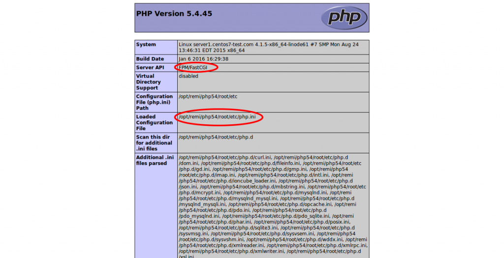 confirm-php-fpm