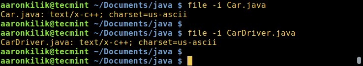 在 Linux 中查看文件的编码