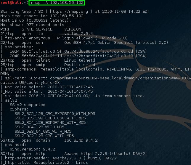 Nmap - Complete Network Scan on Host