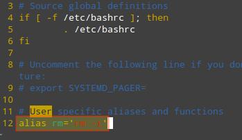 在 Linux 中永久增添别名
