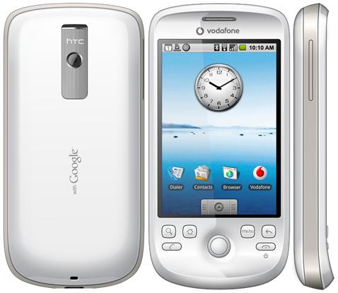 HTC Magic,第二部安卓设备,第一个不带实体键盘的设备。