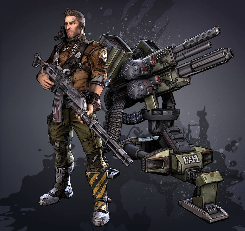 "Axton ""The Commando"""