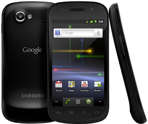 Nexus S,第一部三星制造的Nexus手机。