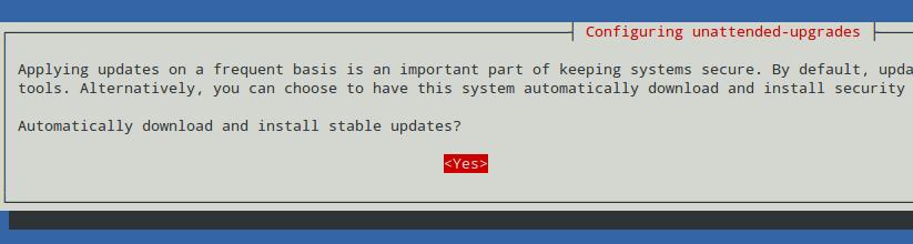 在 Debian 上配置自动安装更新