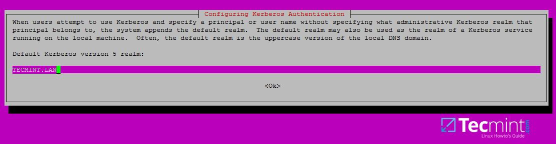配置 Kerosene 认证服务