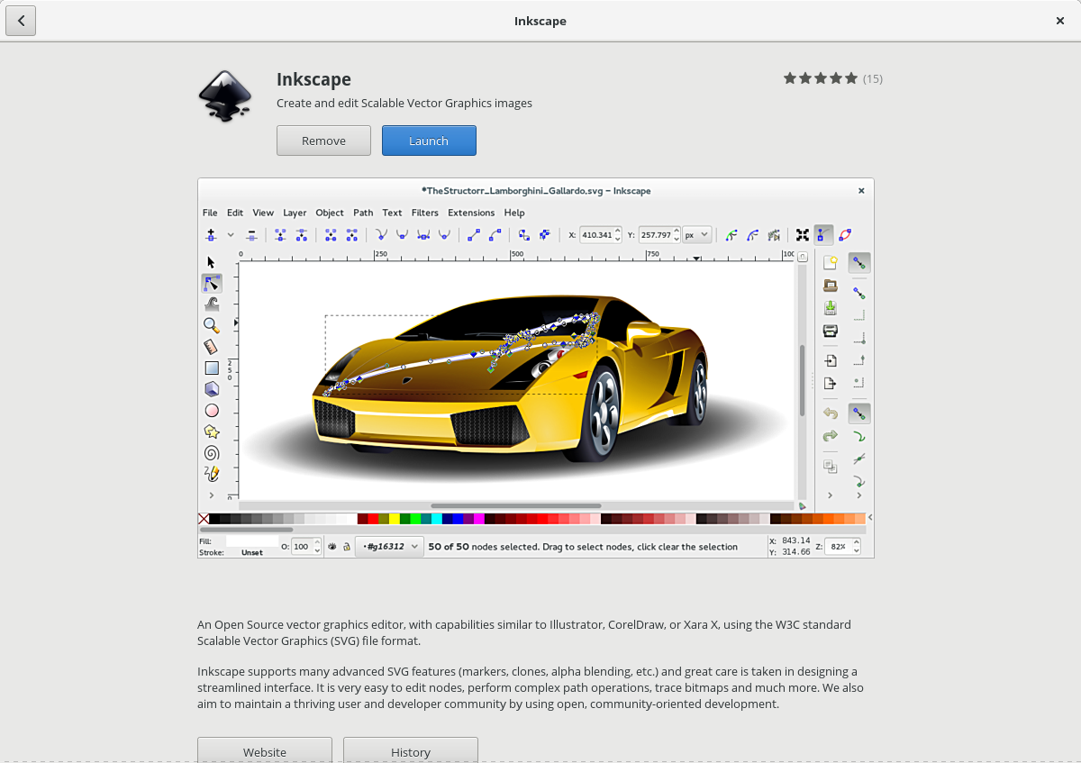 inkscape-gnome-software