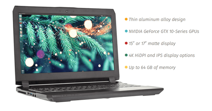 Oryx Pro Linux Laptop