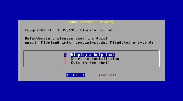 Jurix install screen