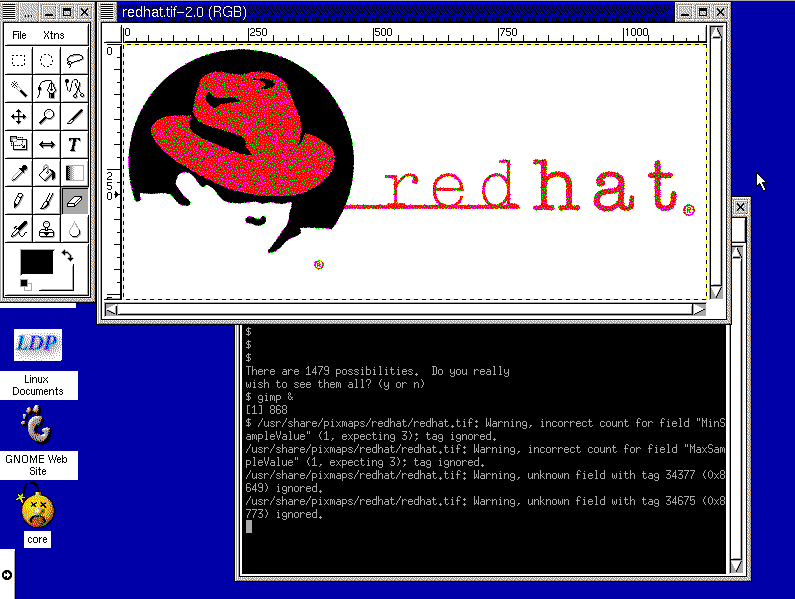 Red Hat 1999