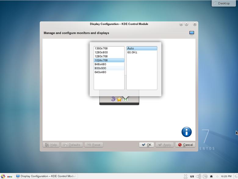 Default xenserver screen VM resolution
