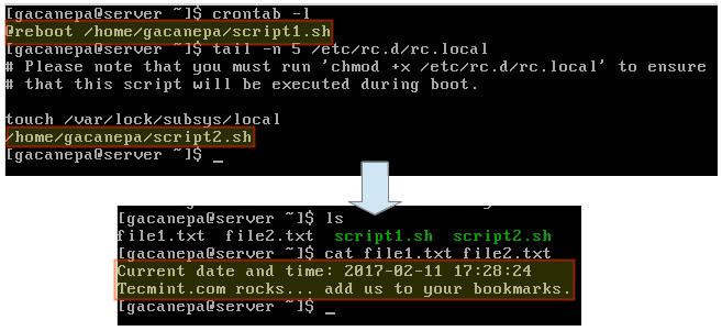 启动时执行 Linux 脚本