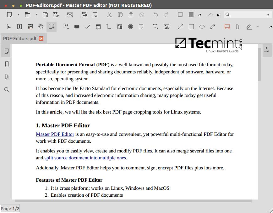 Master PDF 编辑器