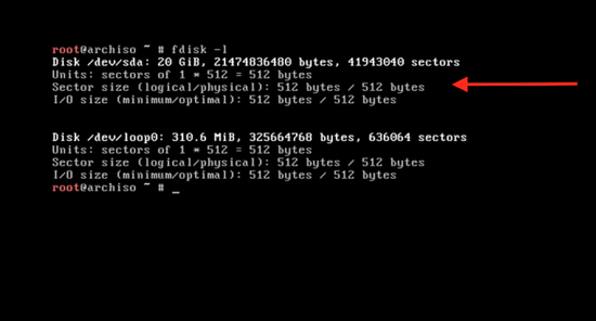Create 3 disk partitions