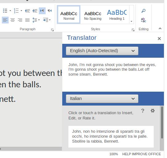 翻译,不准确