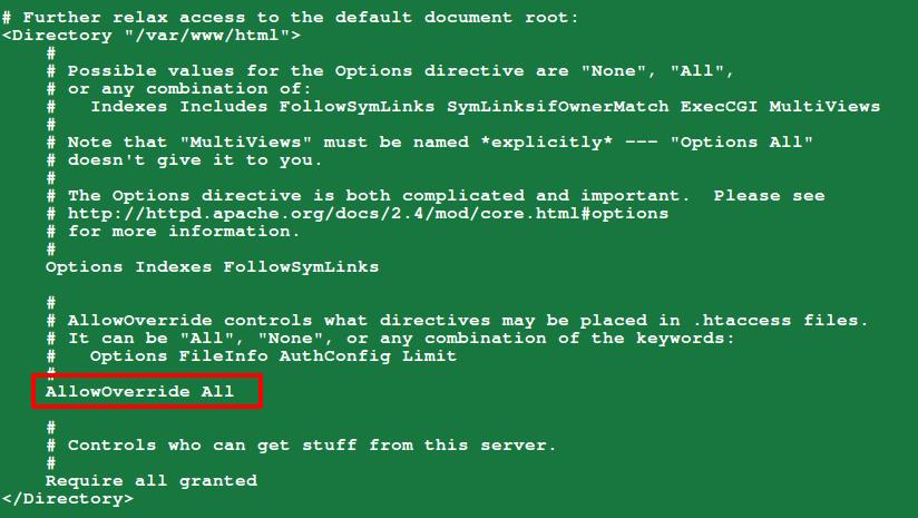在 Drupal 中启用 Clean URL