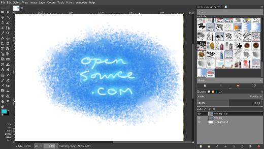 GIMP 截图
