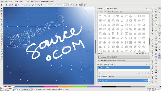 Inkscape 截图