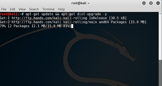 Updating Kali Linux