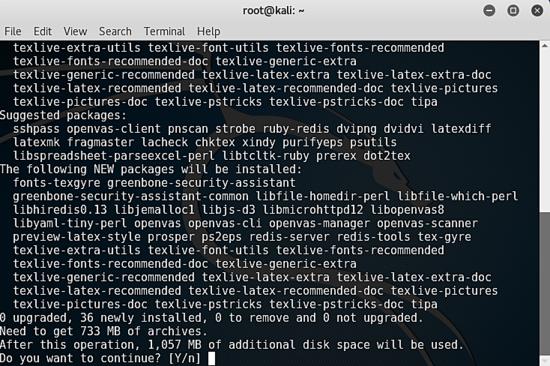 Installing OpenVAS 8