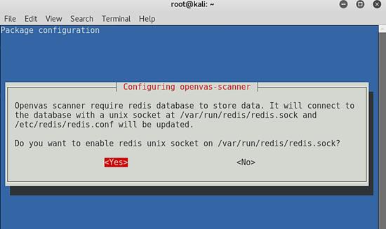 Configure OpenVAS Scanner