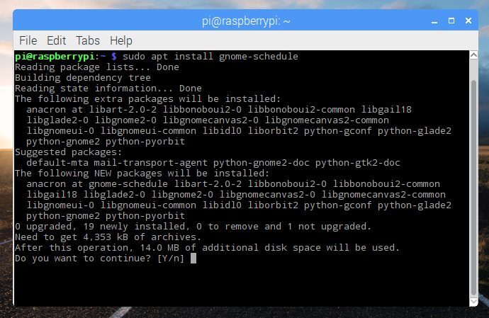 Debian Advanced Packaging Tool (APT) repository