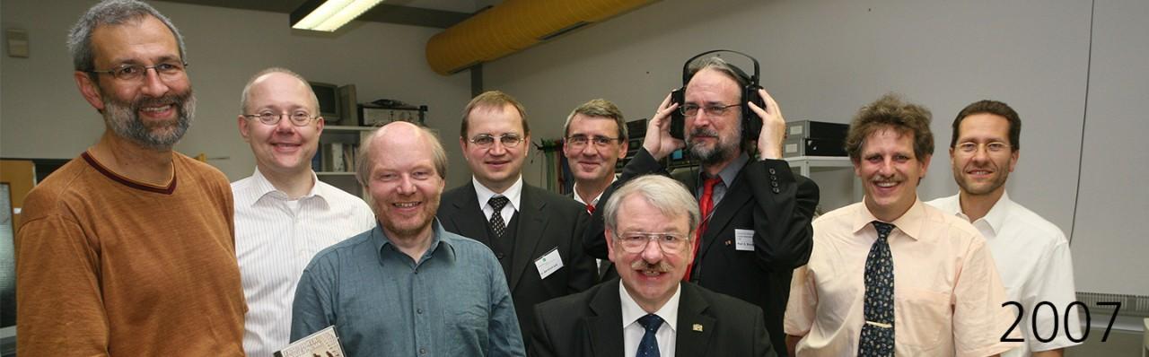 MP3 开发团队,摄于 2007 年