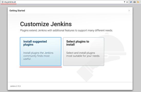 安装 Jenkins 插件
