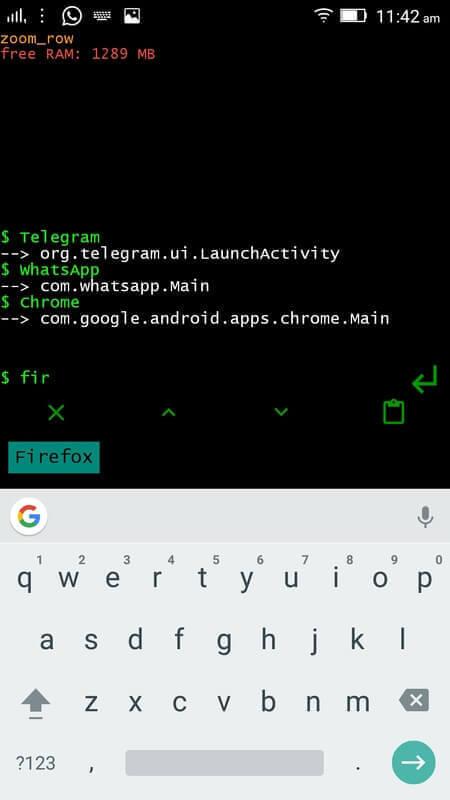 T-UI Commandline Usage