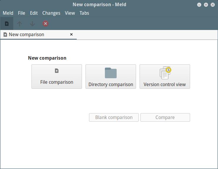 Meld Comparison Tool